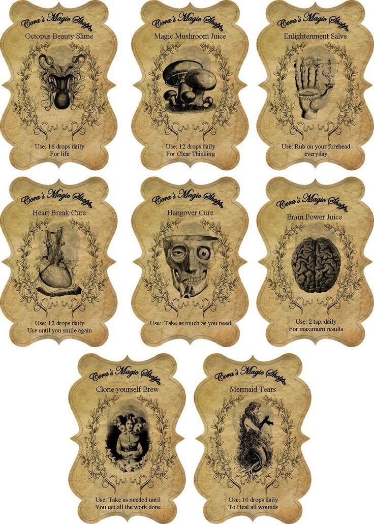 c0a047ecda2abe4784bc22d13ba16860 potion labels jar labels