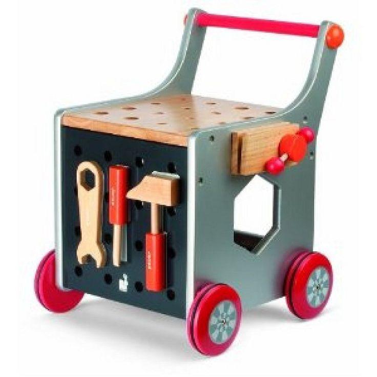 Fabrica un carro de herramientas para tus pequeños