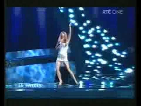 Sweden - Charlotte Perrelli - Hero - Eurovision Song Contest 2008
