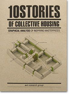- 10 Stories of Collective Housing Graphical analysis of inspiring masterpieces - a+t architecture publishers Online store