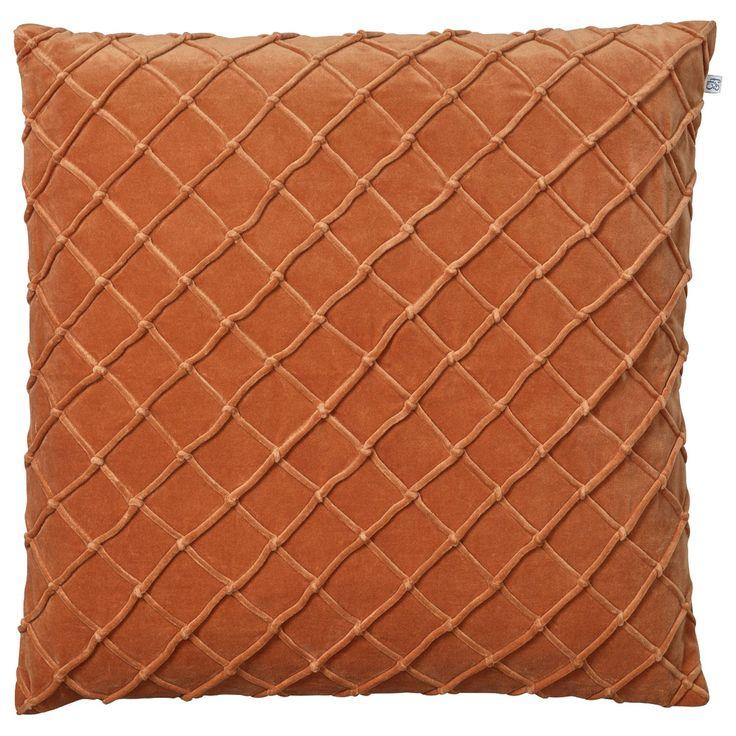 Deva kuddfodral, orange i gruppen Textil / Plädar & Prydnadskuddar / Prydnadskuddar hos RUM21.se (1026635)