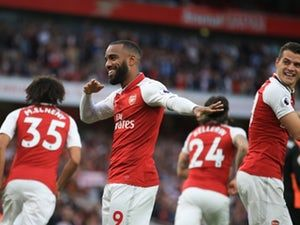 Result: Arsenal rally in second half to thrash Huddersfield Town