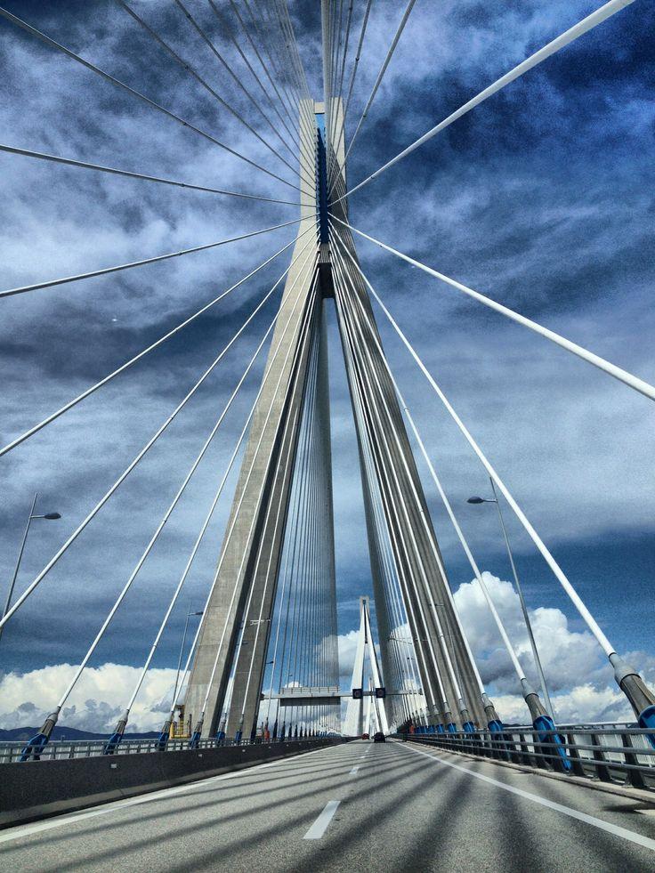 Rio Antirio bridge