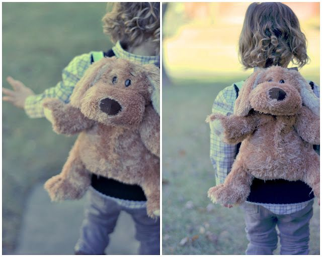 TUTORIAL: From stuffed bear to bear backpack by cottonandcurls. So cute.