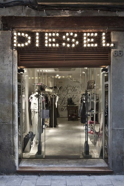 Diesel pop up store. Barcelona, Spain