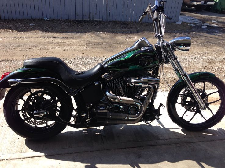 My 2005 Harley Davidson Deuce custom