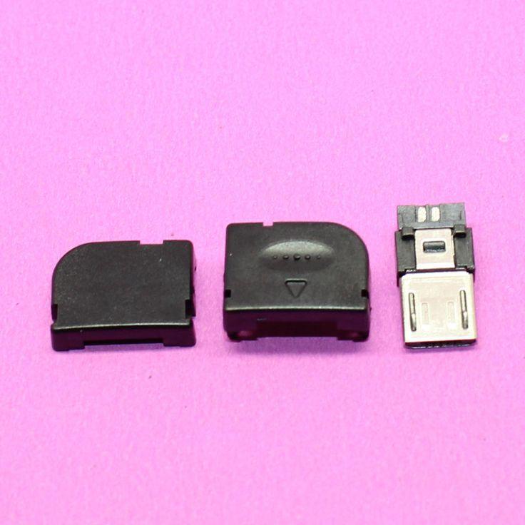 $7.47 (Buy here: https://alitems.com/g/1e8d114494ebda23ff8b16525dc3e8/?i=5&ulp=https%3A%2F%2Fwww.aliexpress.com%2Fitem%2F50set-lot-Right-Angel-90-Degree-Long-Micro-USB-2-0-Welding-Three-Piece-Adapter-Connector%2F32712724637.html ) 50set/lot Right Angel 90 Degree Long Micro USB 2.0 Welding Three Piece Adapter Connector Socket DIY for just $7.47
