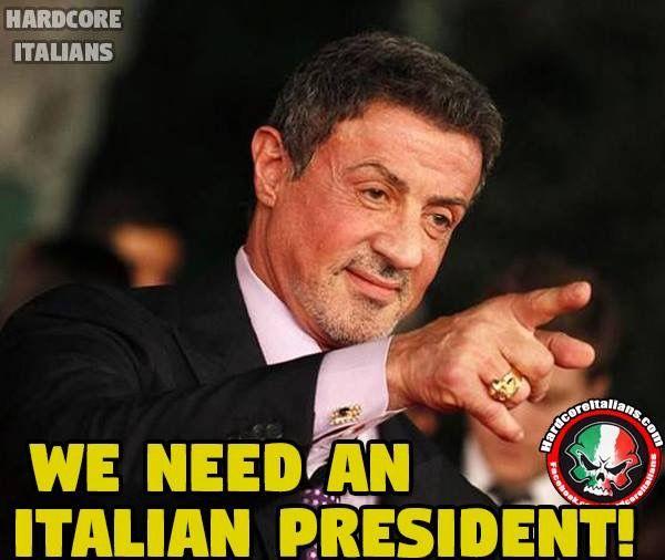 We need an Italian president 🇮🇹