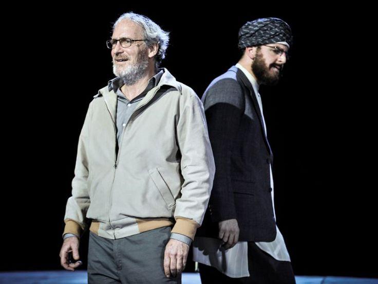 Nathan der Weise von Gotthold Ephraim Lessing im Volkstheater München (August Zirner, Pascal Fligg | ©Arno Declair)