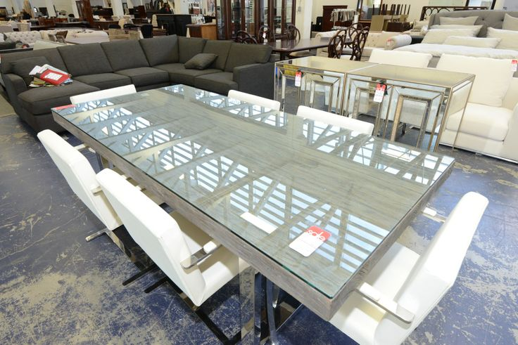 Glass Topped Dining Table Sets- GH Johnson