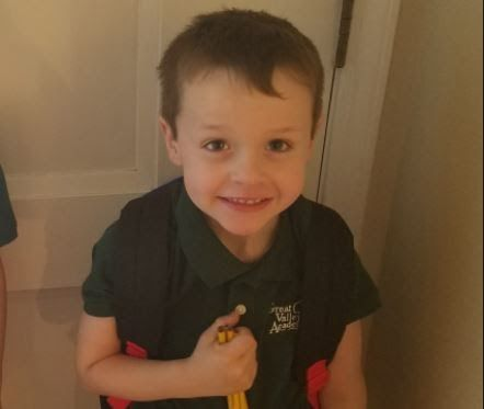 A 5-year-old kindergartner Jackson Riley was suspended at the Great Valley Academy a California elementary school after he joked that he had a bomb in his backpack.  The little boy was in his third week of school when he made threats.  Great Valley Academy officials said that the ordeal unfolded when little Jackson Riley was asked to take off his backpack but the 5-year-old boy refused. The child then told his teacher that a bomb inside would explode if he had to remove the book bag news…