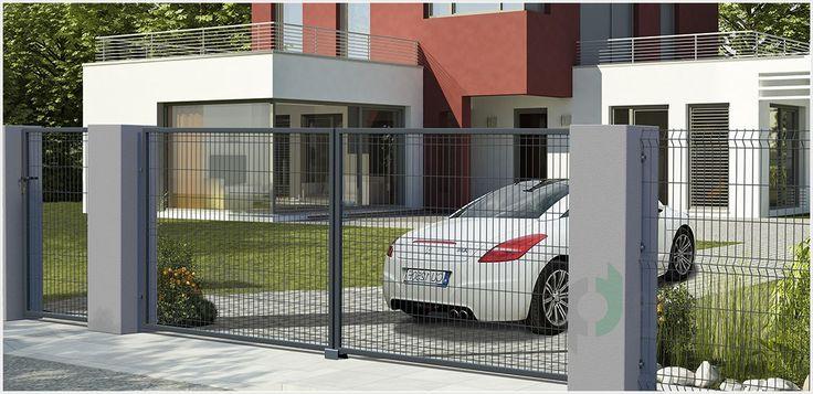 Ogrodzenie panelowe Sparta 50 jest produkowane z drutu stalowego i oczku 5 cm x 20 cm. Tego rodzaju ogrodzenia są trwałym i szybkim sposobem na ogrodzenie posesji.