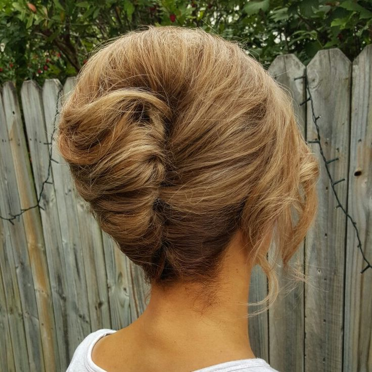 French Roll Hairstyle Hairdo For Long Hair French Twist