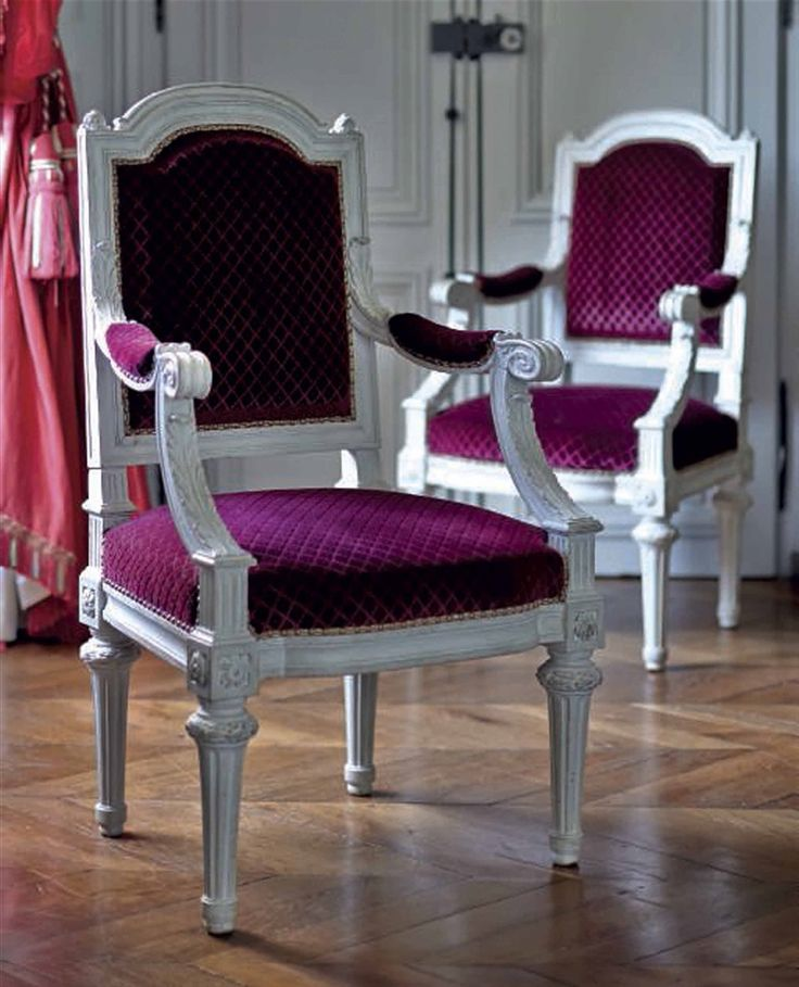A pair of Louis-Philippe armchairs, circa 1840 #laviedechateau