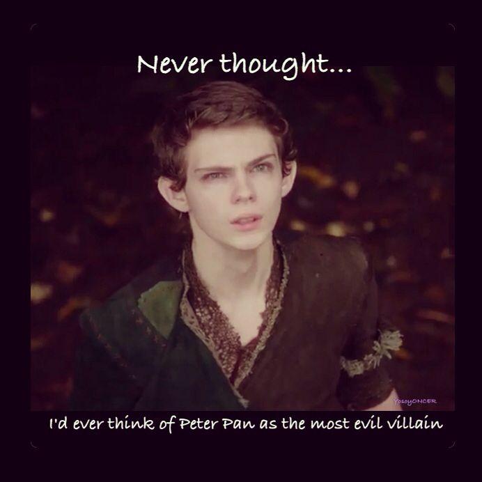 Never crossed my mind... Pan comes back season 5b