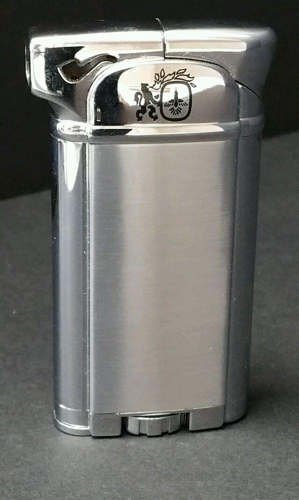 Vintage Colibri 8800 Silver Pipe Lighter Empty #Colibri ...