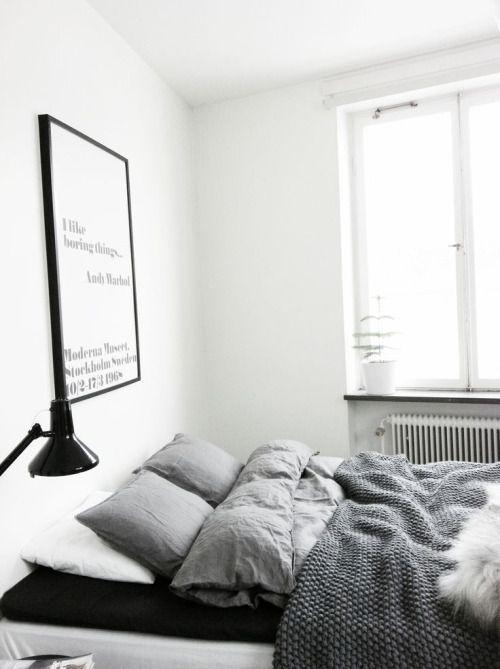 #bedroom #grey #bedding