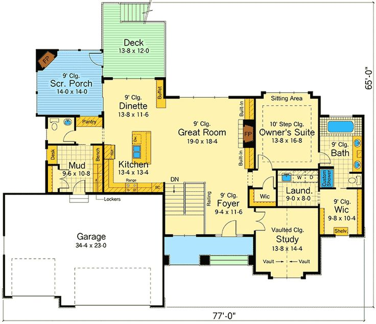5379 Best Homes Images On Pinterest House Floor Plans