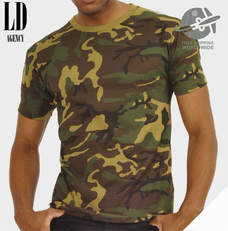 T-SHIRT CAMO MILITARY / tshirt army / tee camouflaged / tshirts military / tees us army / tshirt navy marine corps by LDAgency on Etsy