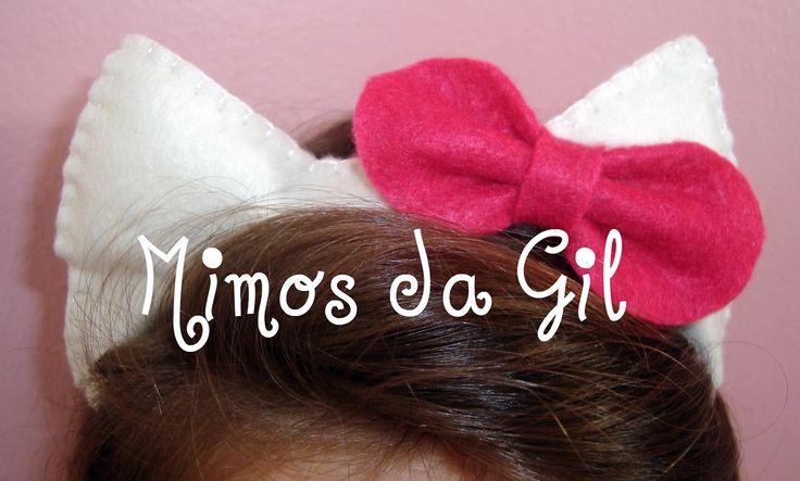 Mimos da Gil: Tiara Hello Kitty