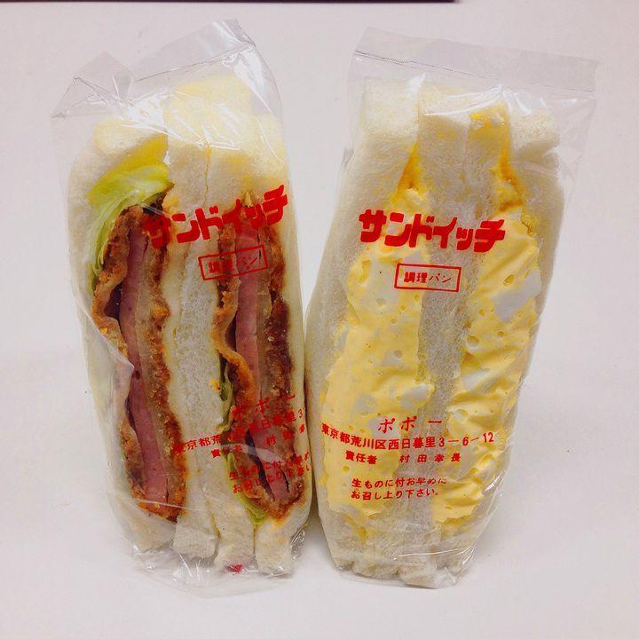 サンドイッチの店 ポポー