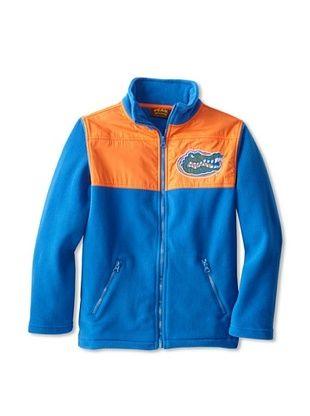 80% OFF Peak Season Boy's Florida Gators Polar Fleece Jacket (Blue/Orange)