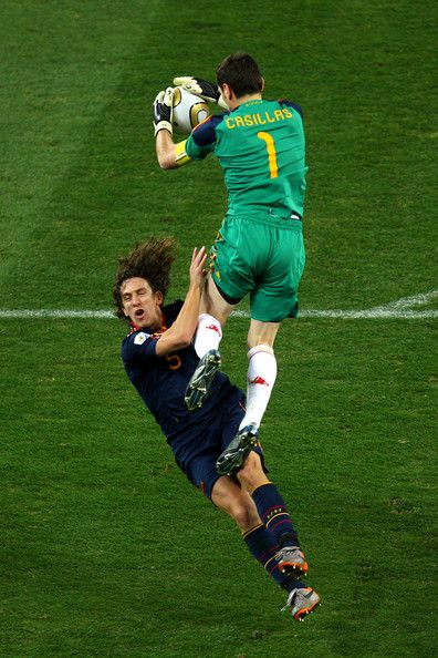 Iker Casillas - Netherlands v Spain: 2010 FIFA World Cup Final