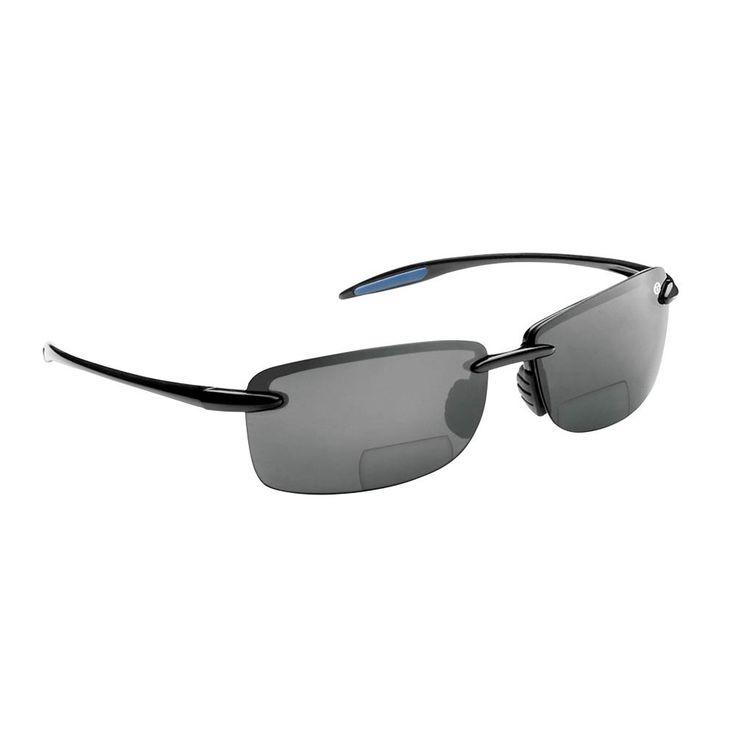 Cali polarized sunglasses black frame with smoke lens