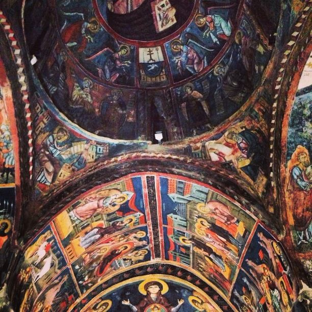 Archangelis michail church troodos, Kato Lakatamia, Cyprus — by Chris Atkin. Dating back to 1474, the traditionally painted troodos churches sit in hidden villages.
