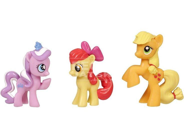 Én kicsi pónim: mini póni 3 darabos készlet - többféle olcsón, 3150 Ft-ért a REGIO Játékboltban. Hasbro játékok széles választékban.