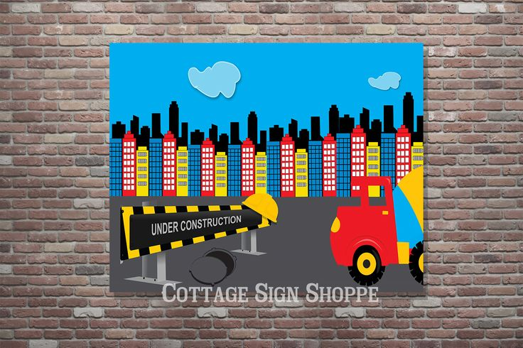 Kids Construction Party, Construction Party Supplies,Construction Birthday…