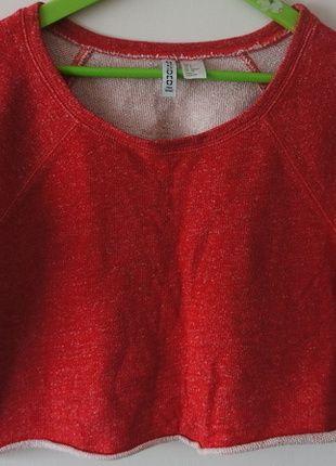 Kup mój przedmiot na #vintedpl http://www.vinted.pl/damska-odziez/koszulki-z-krotkim-rekawem-t-shirty/13652549-czerwona-bluzka-hm-okazja