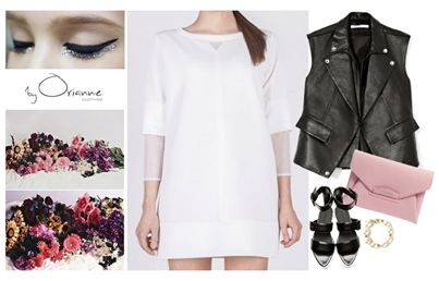 PRETTY IN WHITE dress http://www.byorianne.com/pretty-in-white.html