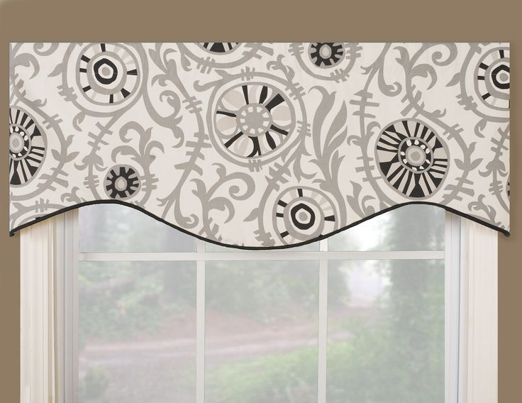 window valance ideas | Window Valances | Window treatment, blinds and window shade, curtain
