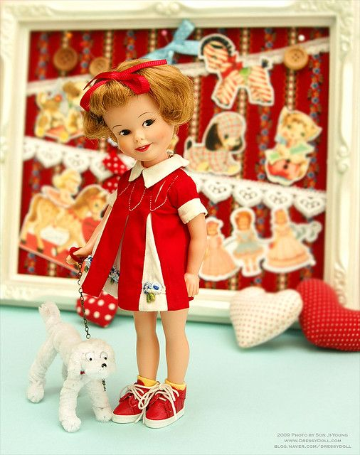 I loved playing with our Penny Brite dolls with my sister.  Penny Brite by dressy doll, via Flickr