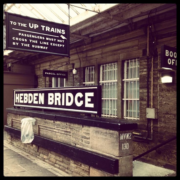 Hebden Bridge Station