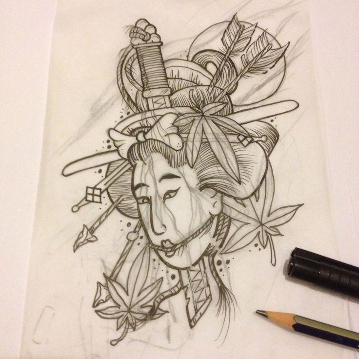 Severed head Japanese tattoo leicester  #severedhead #severedheadtattoo #japanesestyletattoo #japanesetattoo #leicestertattoo