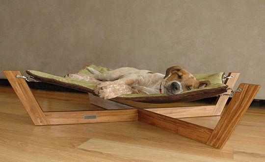 Pet hammock.