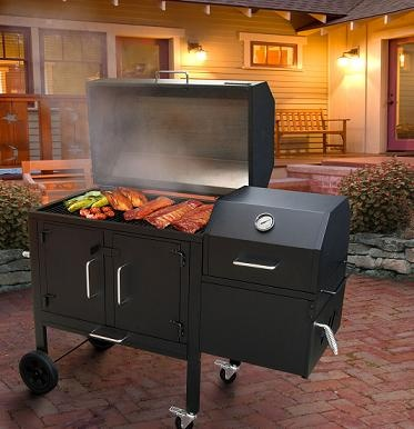 13 best time to grille and smoke images on pinterest bar grill image detail for landmann 590135 black dog 42xt bbq charcoal grill and smoker 506 fandeluxe Choice Image