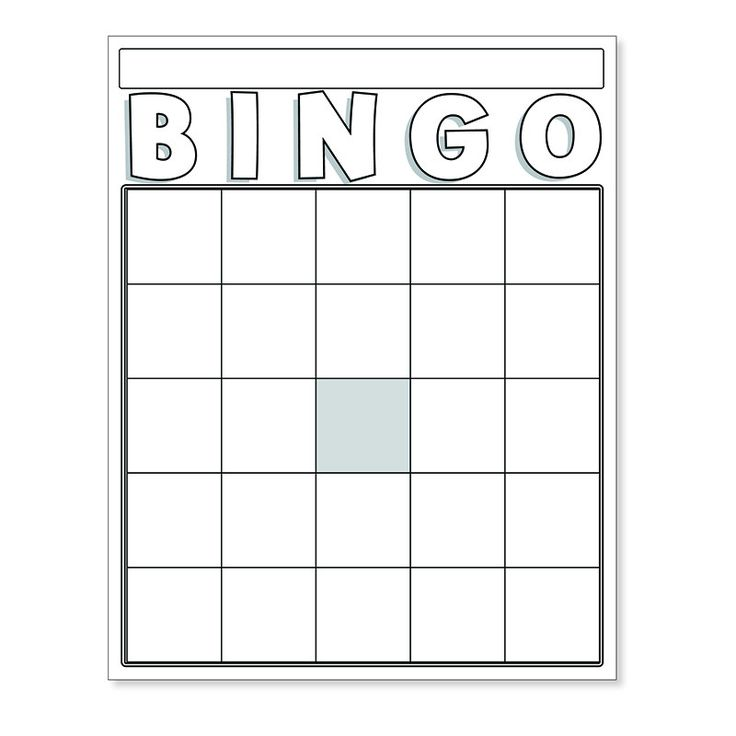 The  Best Blank Bingo Cards Ideas On   Bingo Card