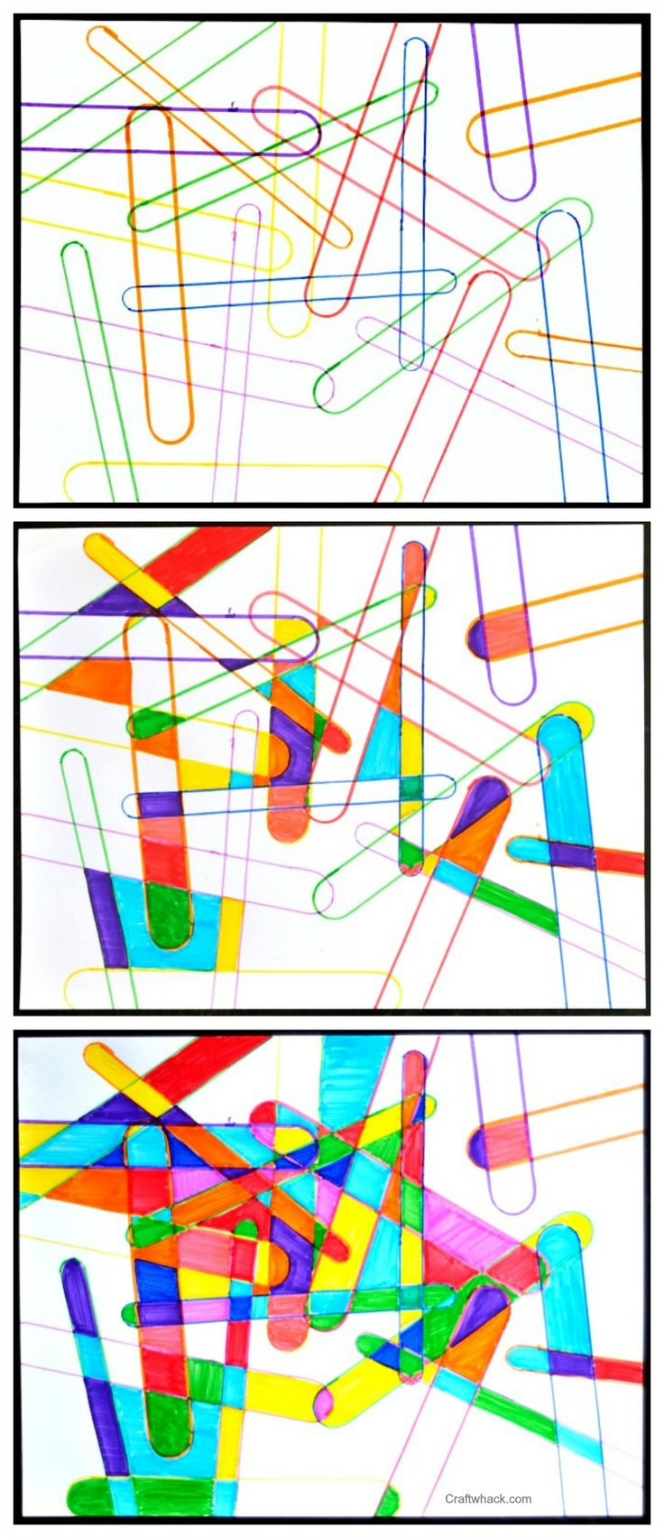Easy drawing project for kids or for you if you want to make your own easy coloring page. This is fun stuff.