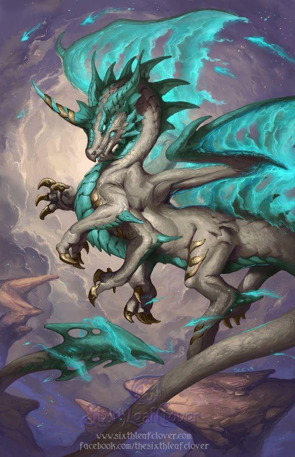 2014 Zodiac Dragons - Sagittarius by The-SixthLeafClover on deviantART