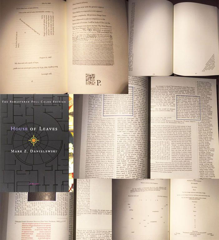 House of Leaves - example of unconventional SVN