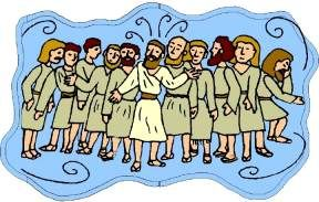 """12 Disciples Rhyme (to the tune of """"Jesus Loves Me"""")"""