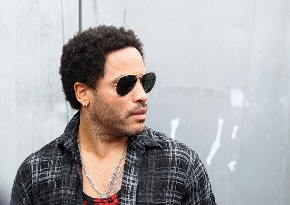 """Lenny Kravitz Photos Photos - American singer, Lenny Kravitz arrives prior to performing live on the """"TODAY"""" show at Federation Square on March 16, 2012 in Melbourne, Australia. - Lenny Kravitz Performs In Fed Square"""