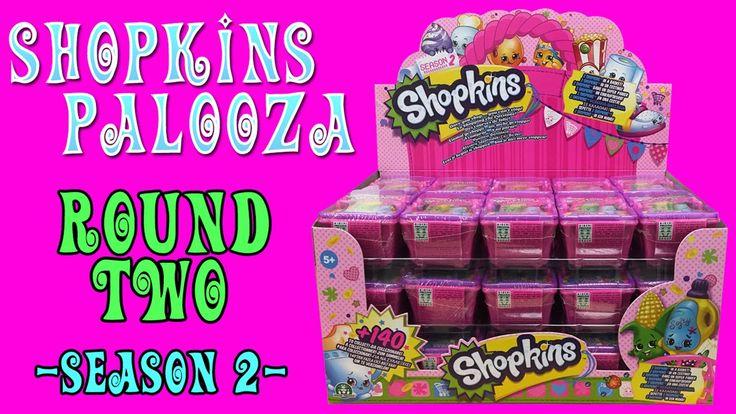 SHOPKINS-PALOOZA ROUND TWO // SEASON 2 SHOPKINS BLIND BASKETS