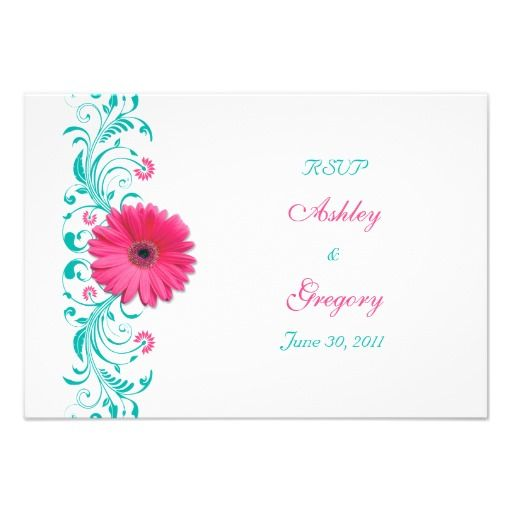 See MorePink Gerbera Daisy Floral Reply Card Custom InvitesWe have the best promotion for you and if you are interested in the related item or need more information reviews from the x customer who are own of them before please follow the link to see fully reviews