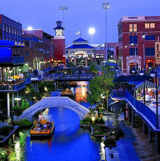 Bricktown Canal in OKC