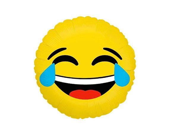 Laugh Cry Emoji Balloon Grad Party Decorations Emoji
