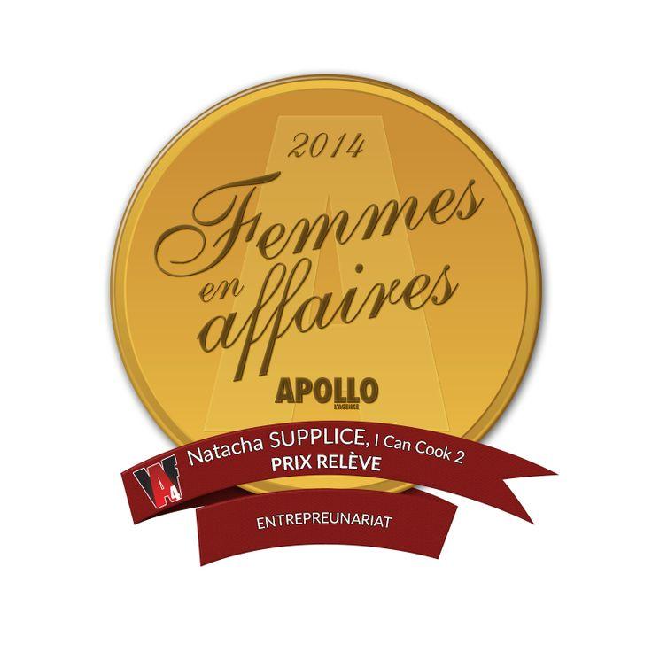 Natacha Supplice Henry 2014 Femmes en Affaires Apollo l'agence!!!